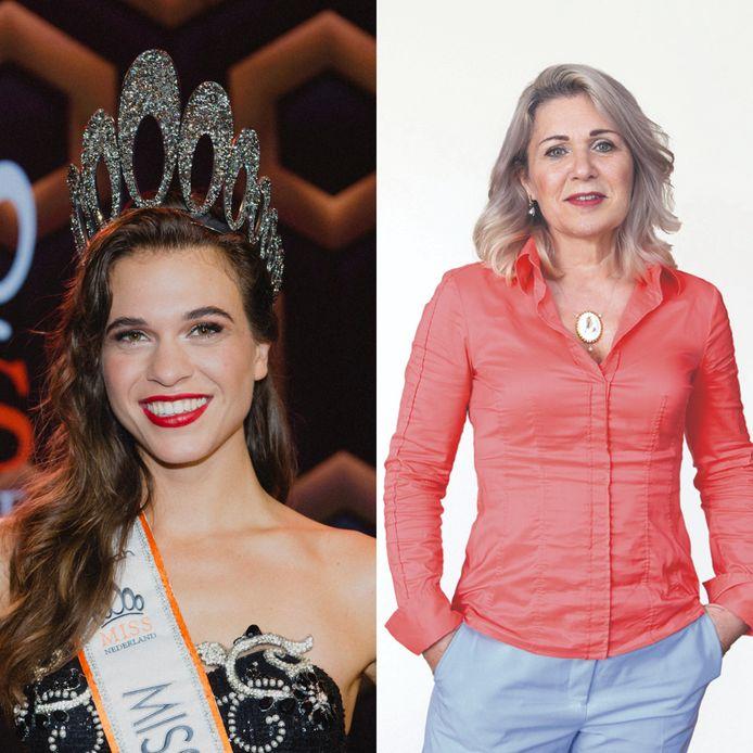 De nieuwe Miss Nederland, Julia Sinning. Hopelijk de laatste.