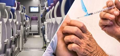 Gemist? Minder bussen en treinen in Twente & Achterhoekers laten zich massaal vaccineren