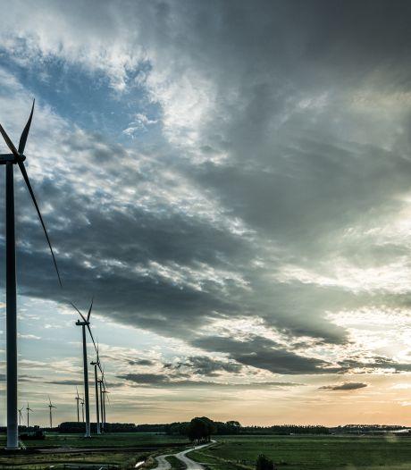 Vier enorme windmolens langs A67: strijd tussen natuurorganisaties, en gemeente Bladel en provincie
