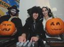 Halloweenavond in café La Strada in Goes. foto Willem Mieras