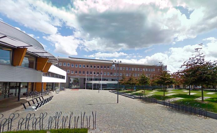 Het gemeentehuis van Veldhoven.