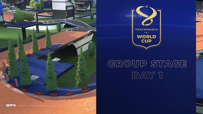 Nederlander Tim 'Spam' Lunenburg bevindt zich op een zevende plaats na de eerste dag van het WK Trackmania, een populair racespel.