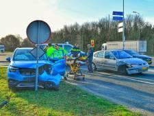 Gewonde bij ongeval op viaduct over A67 bij Eersel