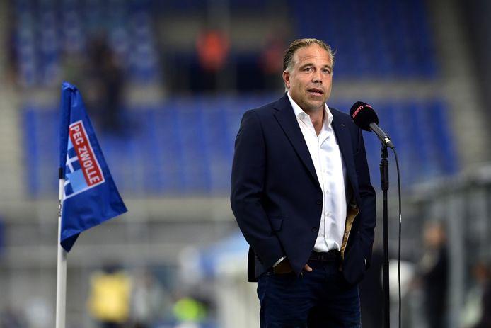 PEC-coach Art Langeler baalde van de nederlaag tegen Ajax, maar hij zag ook voldoende aanknopingspunten.