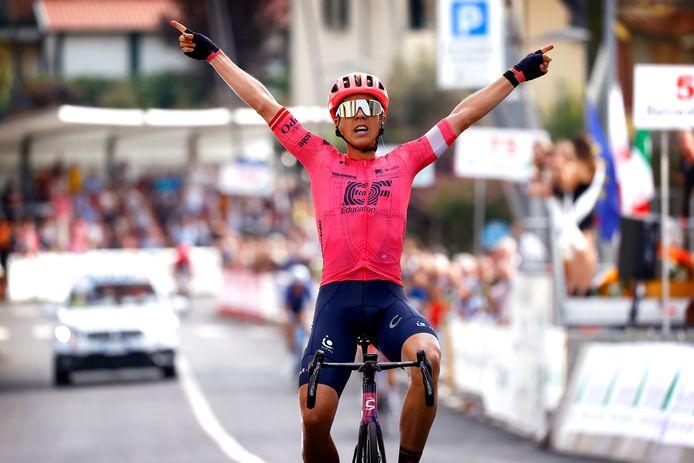 Michael Valgren won vanmiddag de Coppa Sabatini.