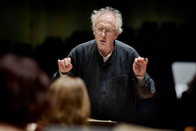 Dirigent Philippe Herreweghe. Beeld Eric De Mildt