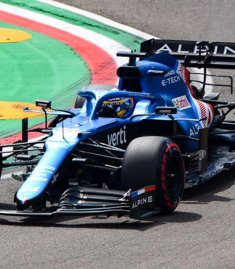 Alonso krijgt na tijdstraf Räikkönen eerste punt bij terugkeer F1
