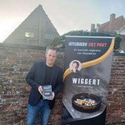 Brugse auteur Daan Vanslembrouck debuteert met fictieboek 'Wiggert'
