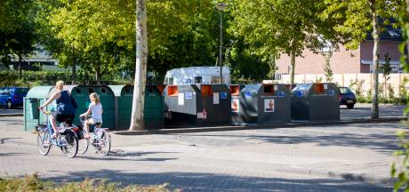 Containers van winkelcentrum Belleman in Dommelen gaan ondergronds