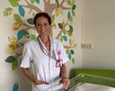 Ilse Vriesde, verpleegkundige op de afdeling verloskunde.