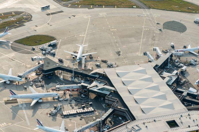 Het toestel landde op de luchthaven van Orly.
