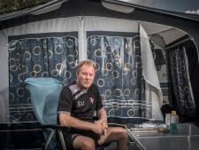 Jan de Jonge: trainen bij De Treffers, slapen in een caravan