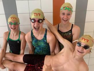 HoZT zwemt vijf medailles bij elkaar (met dank aan 11-jarige) Elina Van de Cloot