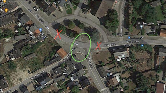 De zebrapaden met rode kruisjes verdwijnen. Het nieuwe ZEBRApad kwam op de plaats van de groene cirkel