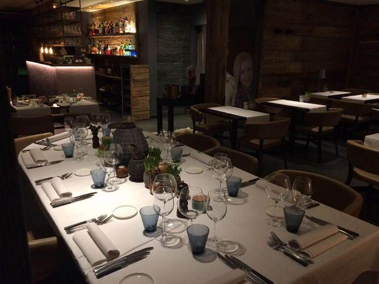 In restaurant kokOvin bleef deze tafel de hele avond leeg.