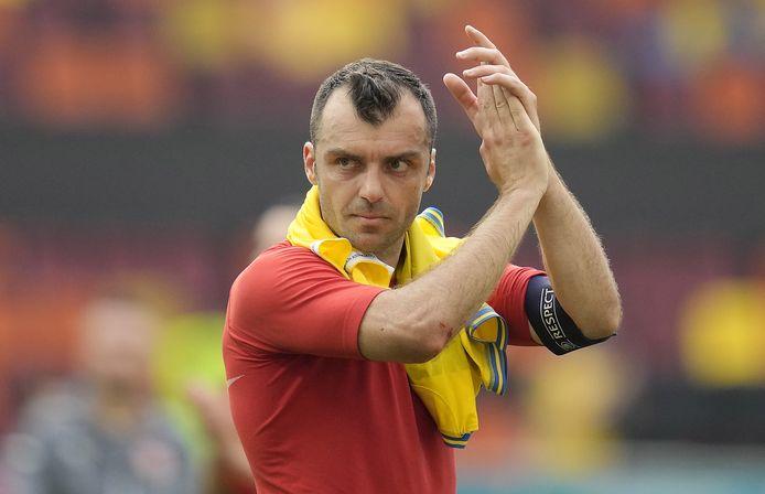 Goran Pandev scoort makkelijk tegen Oranje.