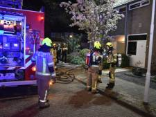 Brand op zolder van woning in Terneuzen