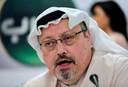 De Saoedische journalist Jamal Khashoggi, die vermoord werd in het consulaat van Saoedi-Arabië in Istanboel.