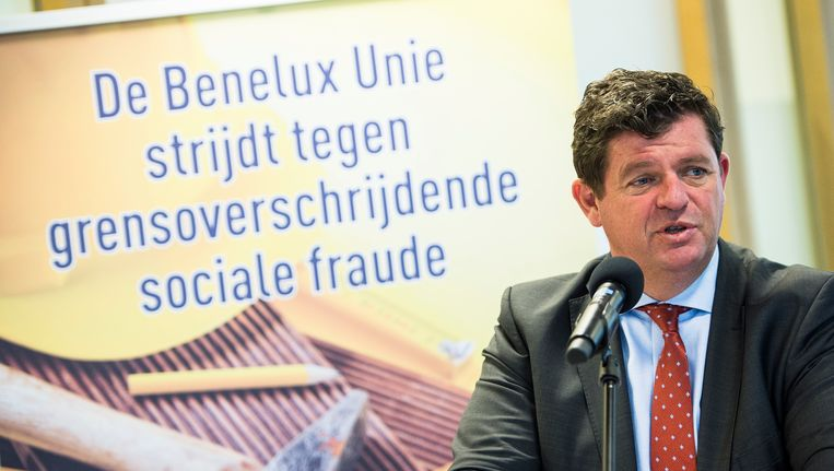 Staatssecretaris voor Sociale Fraude Bart Tommelein.
