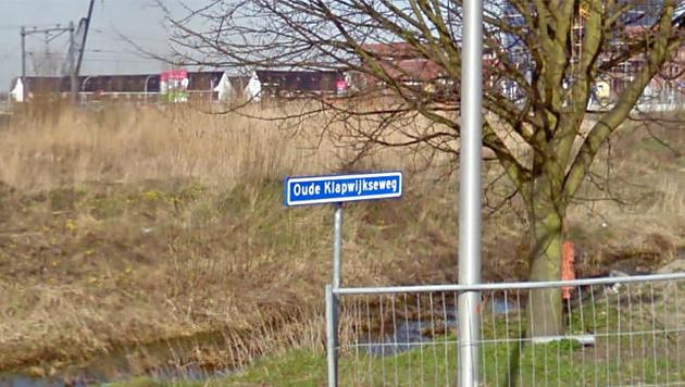 De Oude Klapwijkseweg in Pijnacker.
