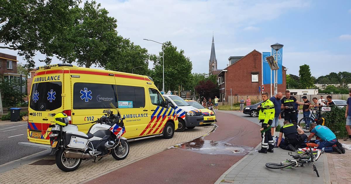 Kind op fiets gewond door botsing met elektrische fiets in Nijmegen.