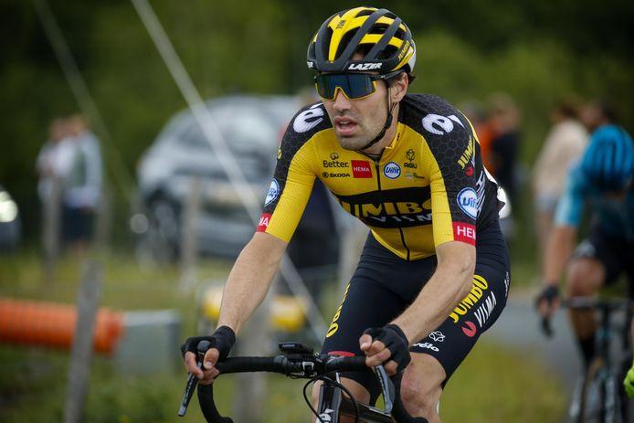 Tom Dumoulin is één van de kanshebbers op de eindoverwinning van de Benelux Tour. Een elf kilometer lange tijdrit van deze tour wordt dinsdag in Lelystad verreden.