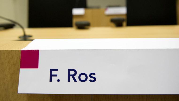 De stoel van Fred Ros in het liquidatieproces Passage Beeld anp