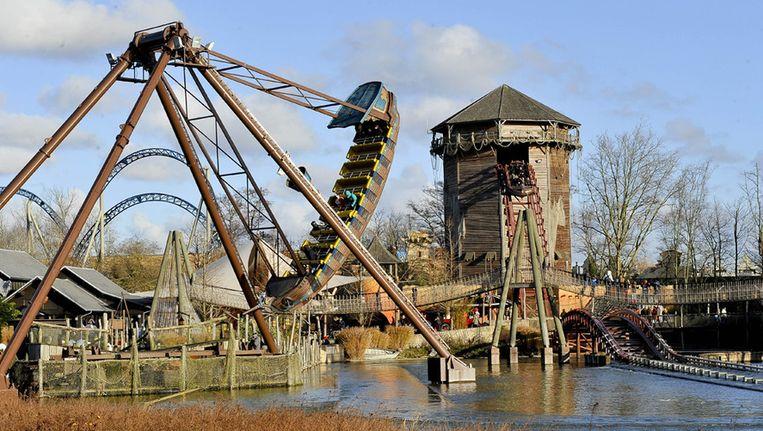 Vooral Plopsaland De Panne tekende een stijging van het aantal bezoekers op. Beeld PHOTO_NEWS