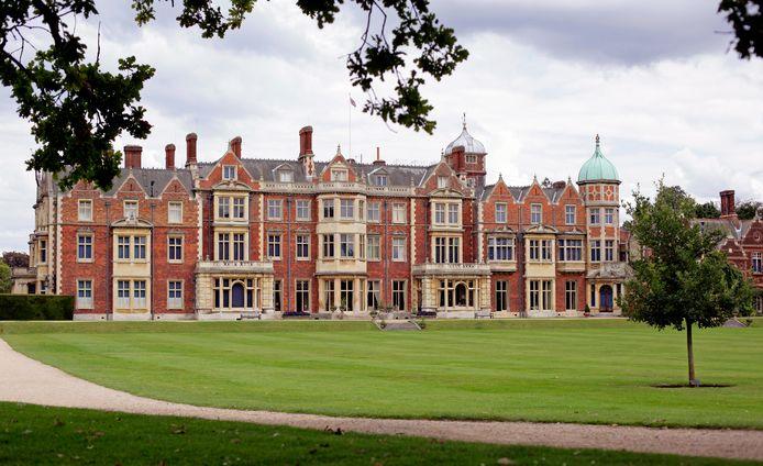 Sandringham House, de plaats waar het overleg plaatsvindt.