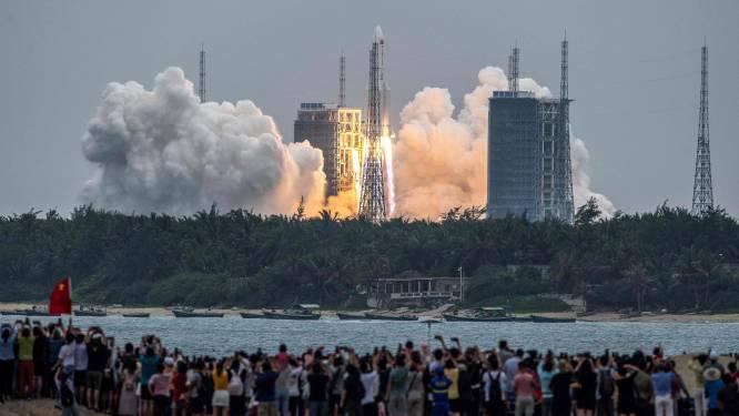 China lanceert eerste module van nieuw eigen ruimtestation