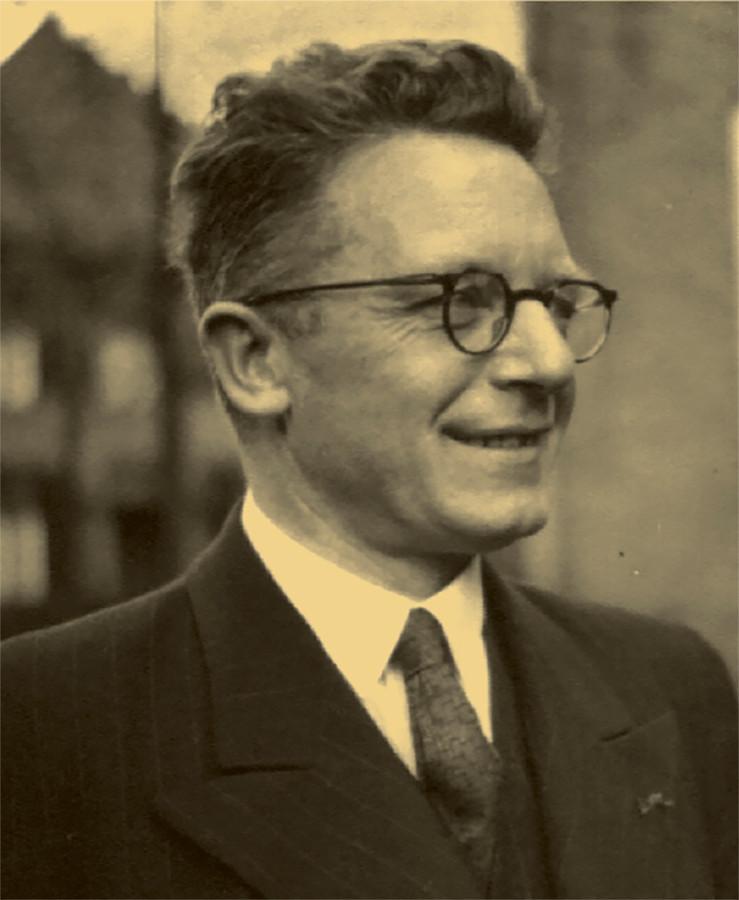 Burgemeester Henri van der Putt van Geldrop. In 1944 werd hij door de Duitsers opgepakt.