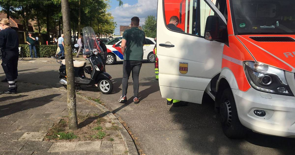 Twee gewonden bij aanrijding in Glanerbrug.