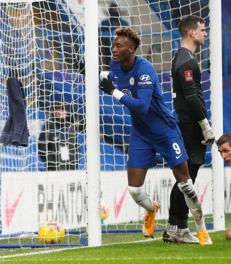 Hattrick Abraham helpt Chelsea naar volgende ronde FA Cup, ook Leicester verder