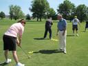 Ook een golfclinic maakt deel uit van het programma van het Zomerfestival.