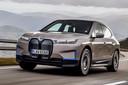 De elektrische BMW iX die later dit jaar wordt gepresenteerd