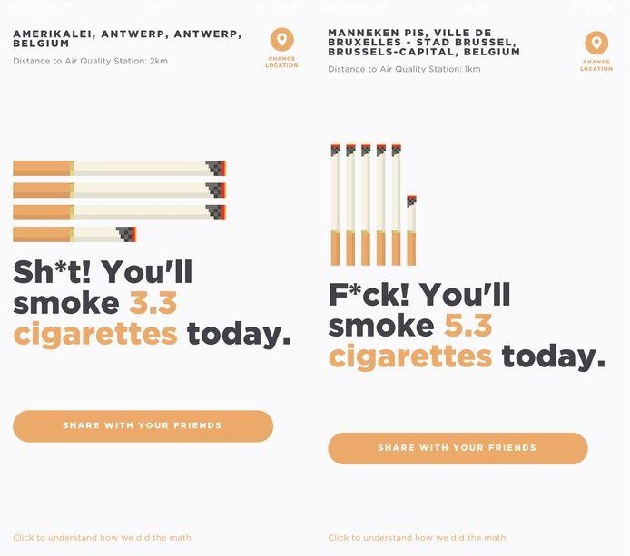 Screenshot 'Shoot! I Smoke'