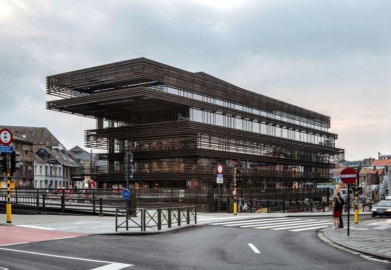 De Krook in Gent  van Coussée & Goris architecten en RCR Arquitectes.
