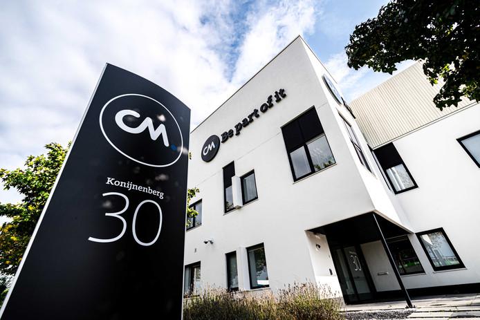 2019-10-13 12:15:30 BREDA - Exterieur van het kantoor van technologiebedrijf CM.com. Het bedrijf heeft haar beursgang in Amsterdam afgeblazen.  ANP ROB ENGELAAR