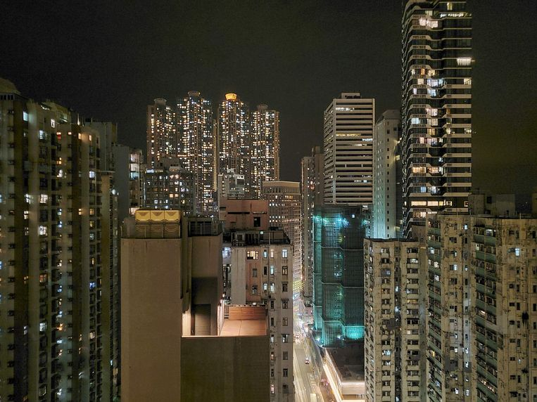 Hongkong.  Beeld AFP