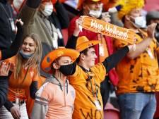 Bezoekers EK-duels Oranje moeten op wedstrijddag testen