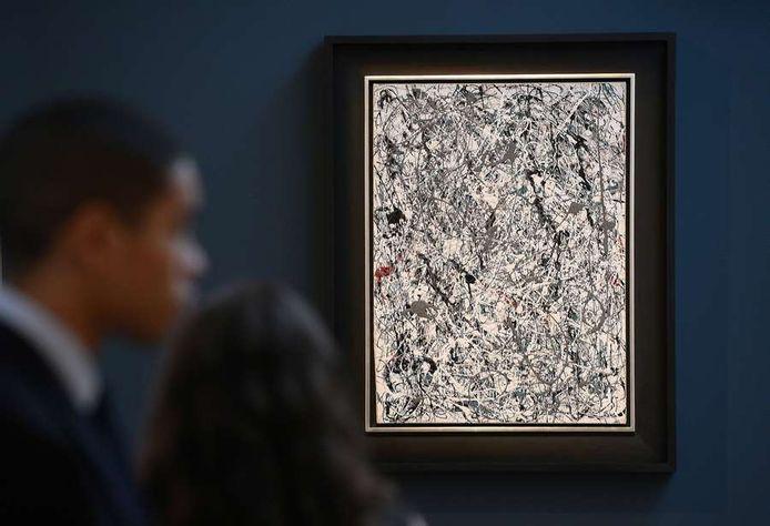 """""""Number 19, 1948"""", de Jackson Pollock a été adjugé à 58,4 millions de dollars."""