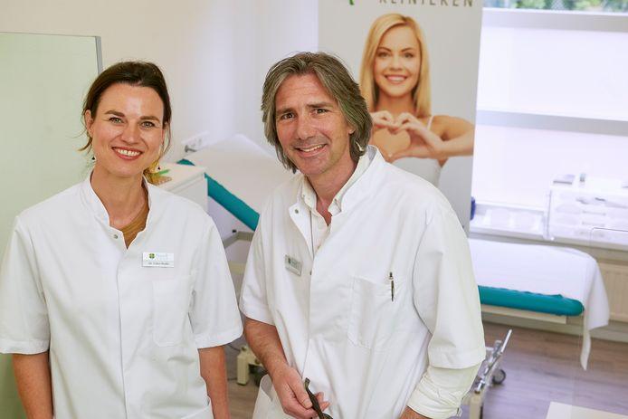Plastisch chirurgen Esther Bodde en Roel Fresow gaan zich vestigen in Heesch.