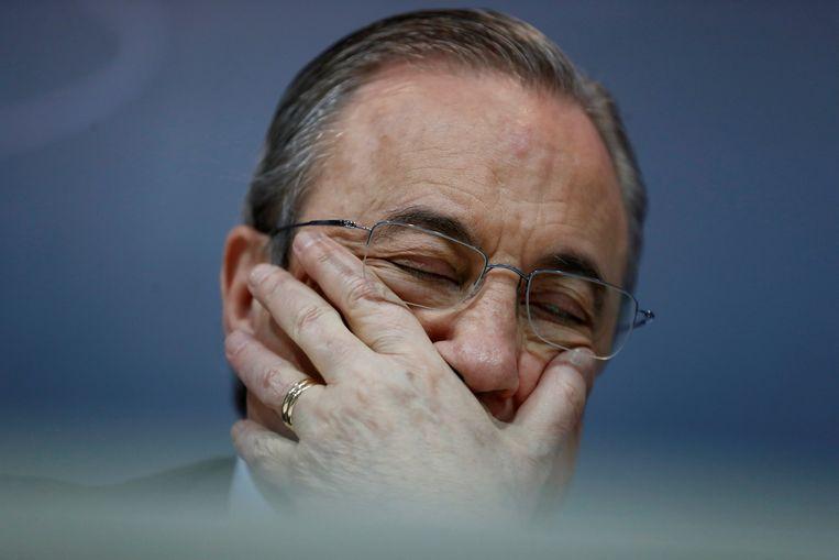 Real Madrid-voorzitter Florentino Perez.