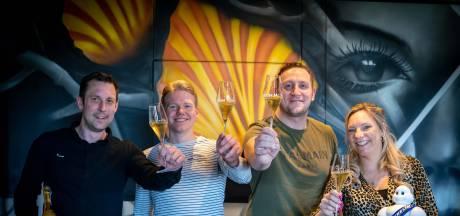 Door corona luxe maaltijden in papieren bakje; restaurant Rijnzicht houdt en koestert Michelinster