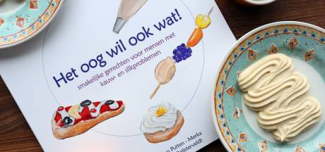 Eindelijk een kookboek voor mensen met slikproblemen: 'Een gepureerd appeltaartje smaakt zoveel lekkerder als het er ook zo uitziet'