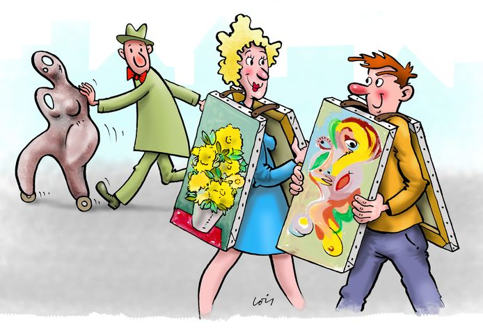 Illustratiefoto van de wandelzoektocht.