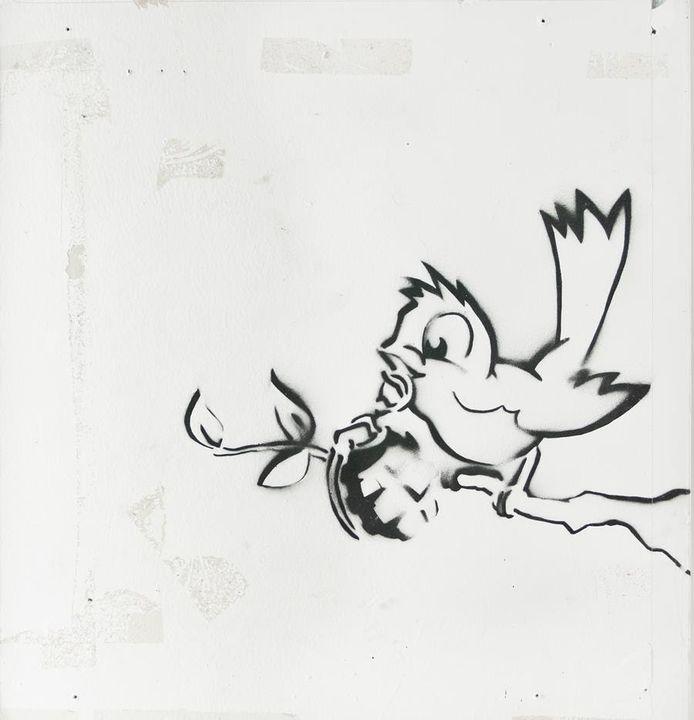 'Bird with Grenade'.