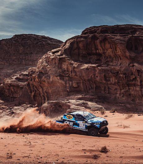 Kuddes kamelen en geiten houden Van Loon niet tegen in Jordanië, Eerselse rallycoureur snelste in Jordan Baja