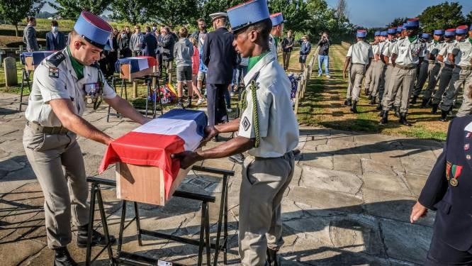 """Franse WO I-soldaten krijgen laatste rustplaats op Potyze in Ieper: """"Na 107 jaar voegen ze zich bij hun kameraden"""""""