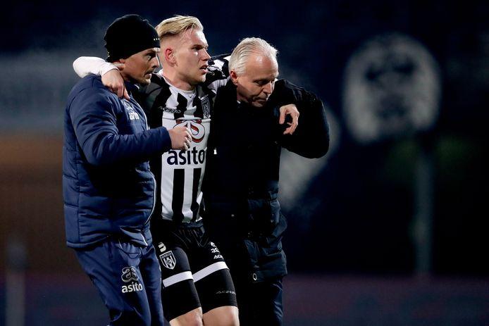 Lennart Czyborra viel uit tegen ADO Den Haag, maar kan wellicht spelen tegen Sparta.
